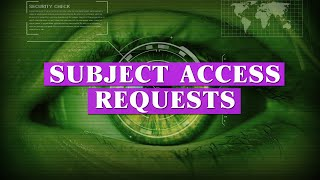 Subject access requests | Bitesized UK Employment Law Videos by Matt Gingell