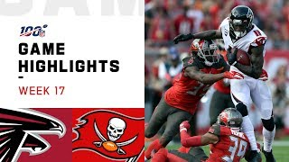 Falcons vs. Buccaneers Week 17 Highlights | NFL 2019