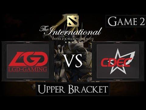 Dota 2 The International 2015 LGD vs CDEC