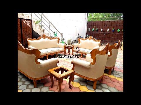 #132 Premium Sofa Set Handcrafted for Senior Officer, Dehradun Cantonment @Aarsun Woods