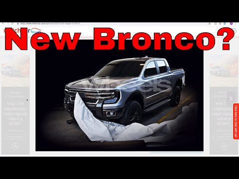 New Ford Bronco Leaked? - CarGuy Special
