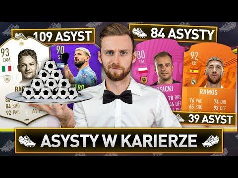 ASYSTY W KARIERZE DECYDUJĄ O DRAFCIE! | FIFA 19 thumbnail