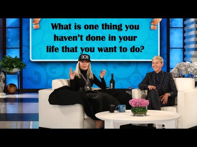 Diane Keaton Answers Ellen's Most Interesting Questions