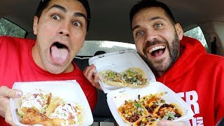 TRYING INSTAGRAM FAMOUS MEXICAN FOOD with TODD SMITH!!