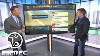 Craig Burley gives his predictions on the World Cup Round of 16 and more | ESPN FC