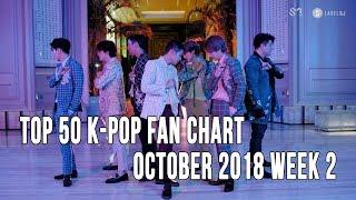 Top 50 K-Pop Songs Chart - October 2018 Week 2 Fan Chart
