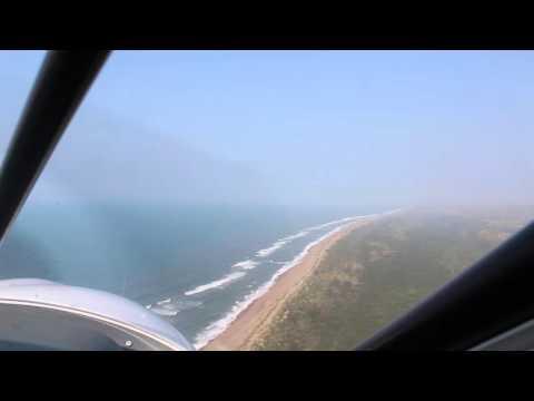 Hilton Ashton (66) flies over the Tugela RIver
