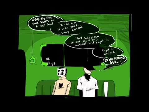 Zacharie takes his mask OFF