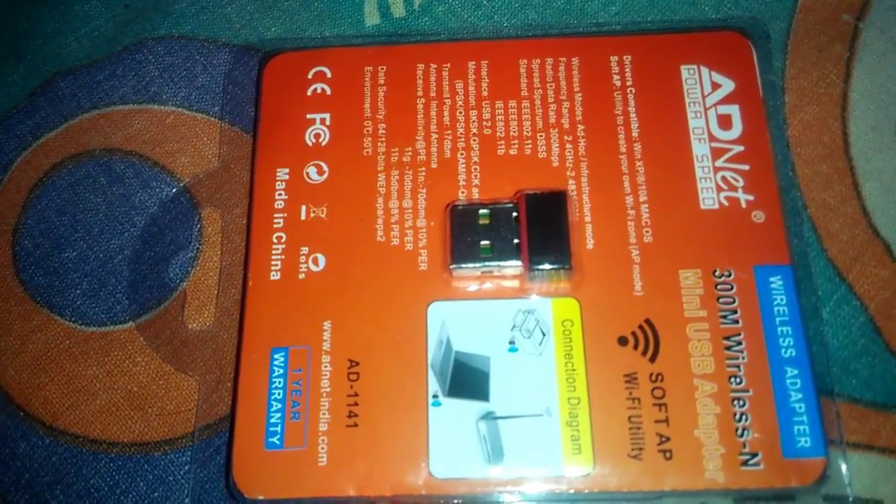 Ad Net Wifi Adapter Driver Download