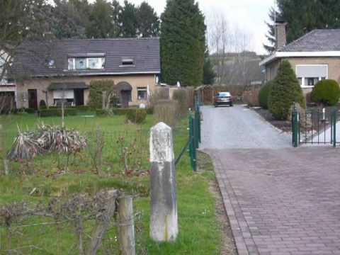 Germany-Netherlands international border at Lemiers (Aachen)