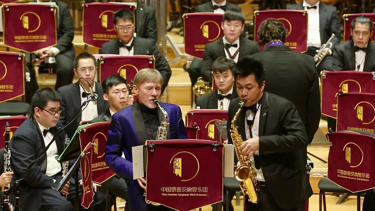 """""""Pequeña Czarda"""" by Pedro Iturralde - Alto Saxophones: Claude Delangle, Chih-Huan Wu"""