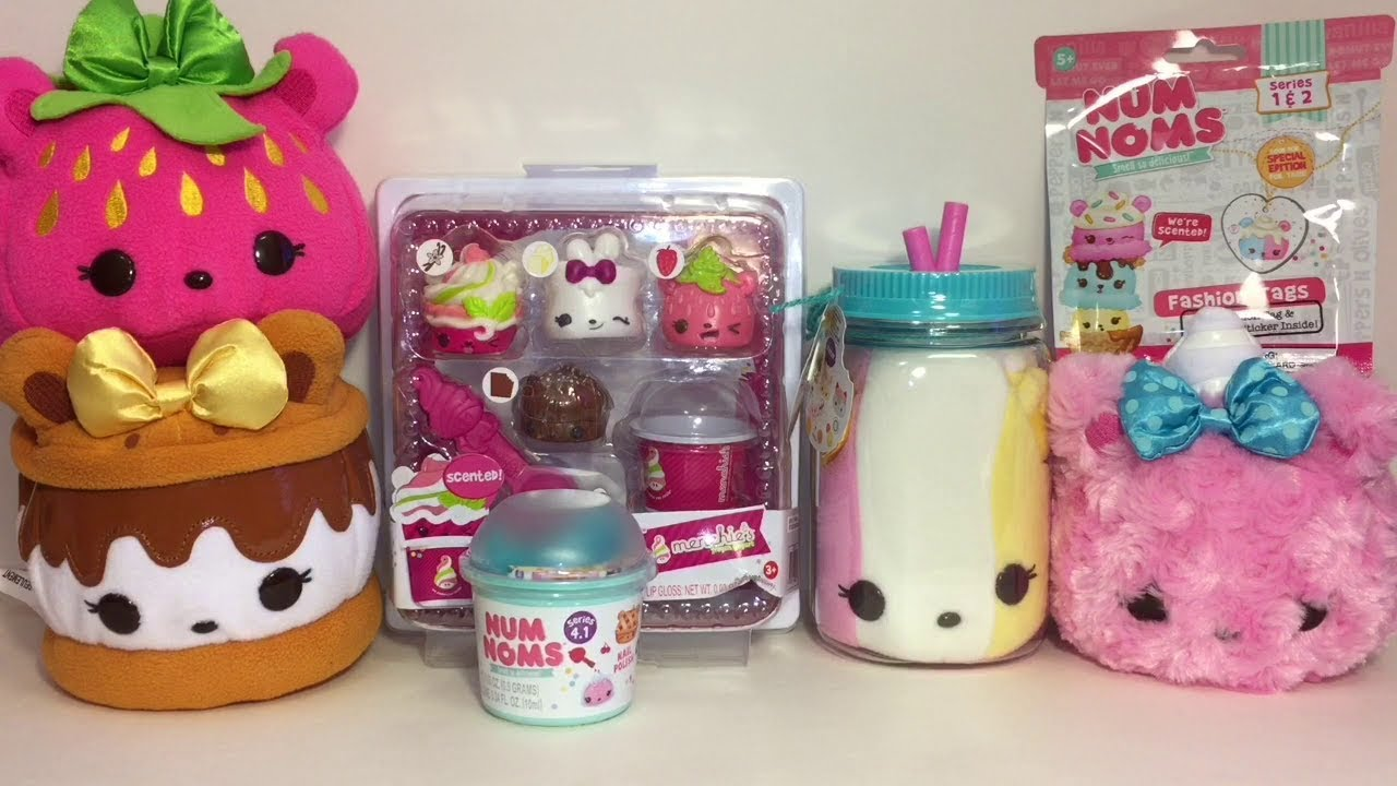 Num Noms Toys Menchies Yogurt Pack Plush Blind Bags