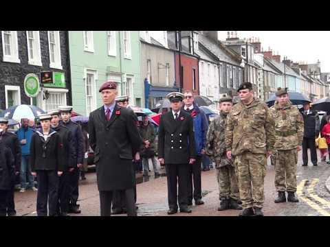 Kirkcudbright Remembrance Sunday 2018  02
