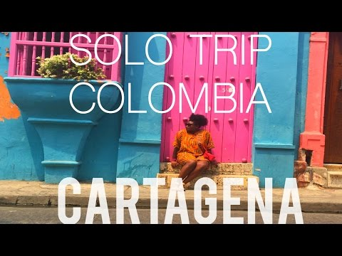 Vlog 29 Solo Trip to Colombia | Turn Up in Cartagena & Playa Blanca