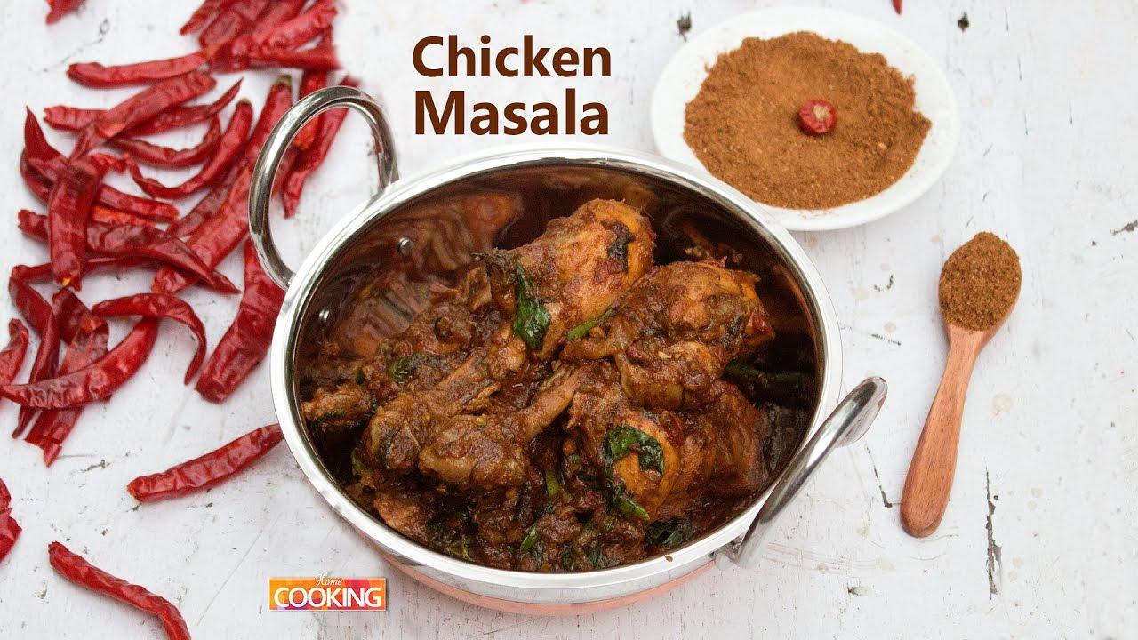 Chicken Masala Using Chicken Masala Powder Ventuno Home Cooking