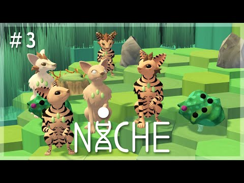 Growing Antlers & Giveaway News! | Niche: A Genetics Survival Game Let's Play - Episode 3