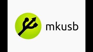 mkusb для создания постоянного хранения данных Live USB с Ubuntu, Linux Mint, Debian