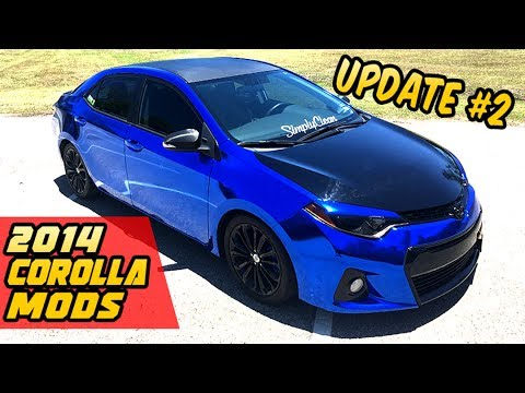 2014 Toyota Corolla Mods PROJECT Update #2 - YouTube