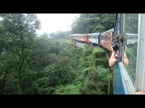 The Train Ride: Curitiba to Morretes (Brazil)