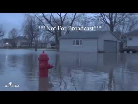 Cissna Park, Illinois - Town Flooding/Flash Flooding - Feb 21, 2018