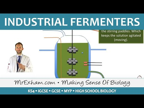 Food Production - Biotechnology - Fermenters - GCSE Biology (9-1)
