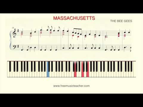 "How To Play Piano: The Bee Gees ""Massachusetts"""