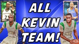All Kevin Team!! NBA 2K15 MyTeam - Pink Diamond Kevin Durant & Onyx Kevin Garnett - FGF