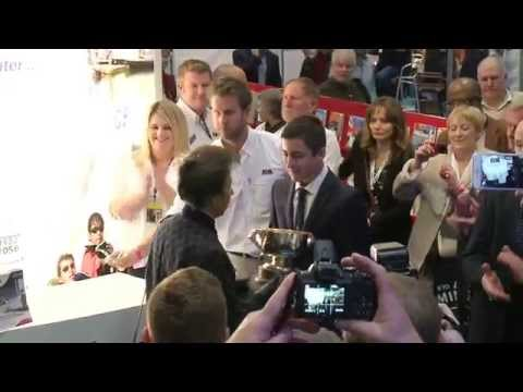 RYA Yachtmaster of the Year 2014 - Presented by HRH The Princess Royal to George Gillingham