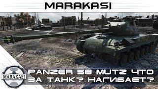 Panzer 58 Mutz - что за танк? нагибает? World of Tanks