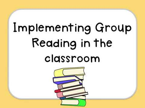 Implementing Group  Reading