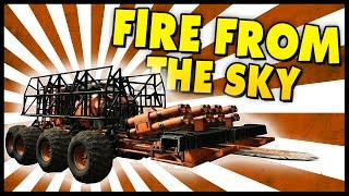 Crossout - RAIN FIRE FROM THE SKY! - Crossout Gameplay