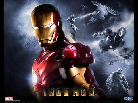 Iron Man All Cutscenes Movie (Game Movie) FULL STORY