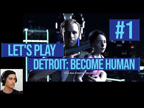THIS GAME IS INSANE!! // *LET'S PLAY!* DETROIT: BECOME HUMAN #1 |