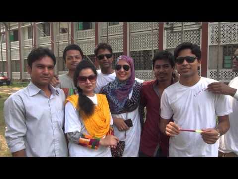 Rag Day(Original Part-1) 35th Batch Department Geology & MIning Rajshahi University