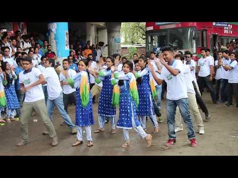 Rag day flash mob of Jagannath University, AIS 6th batch