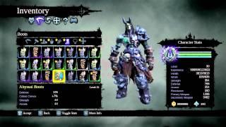 darksiders 2 - abyssal armor