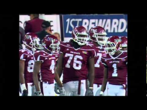 Highlights from NM State Football's victory over Fresno State