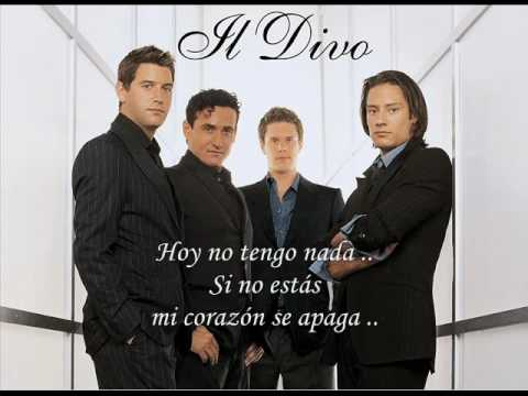 Nella fantasia karaoke il divo doovi for Il divo regresa a mi lyrics