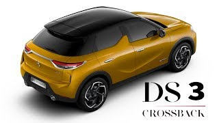2019 DS 3 Crossback Interior and Exterior colors