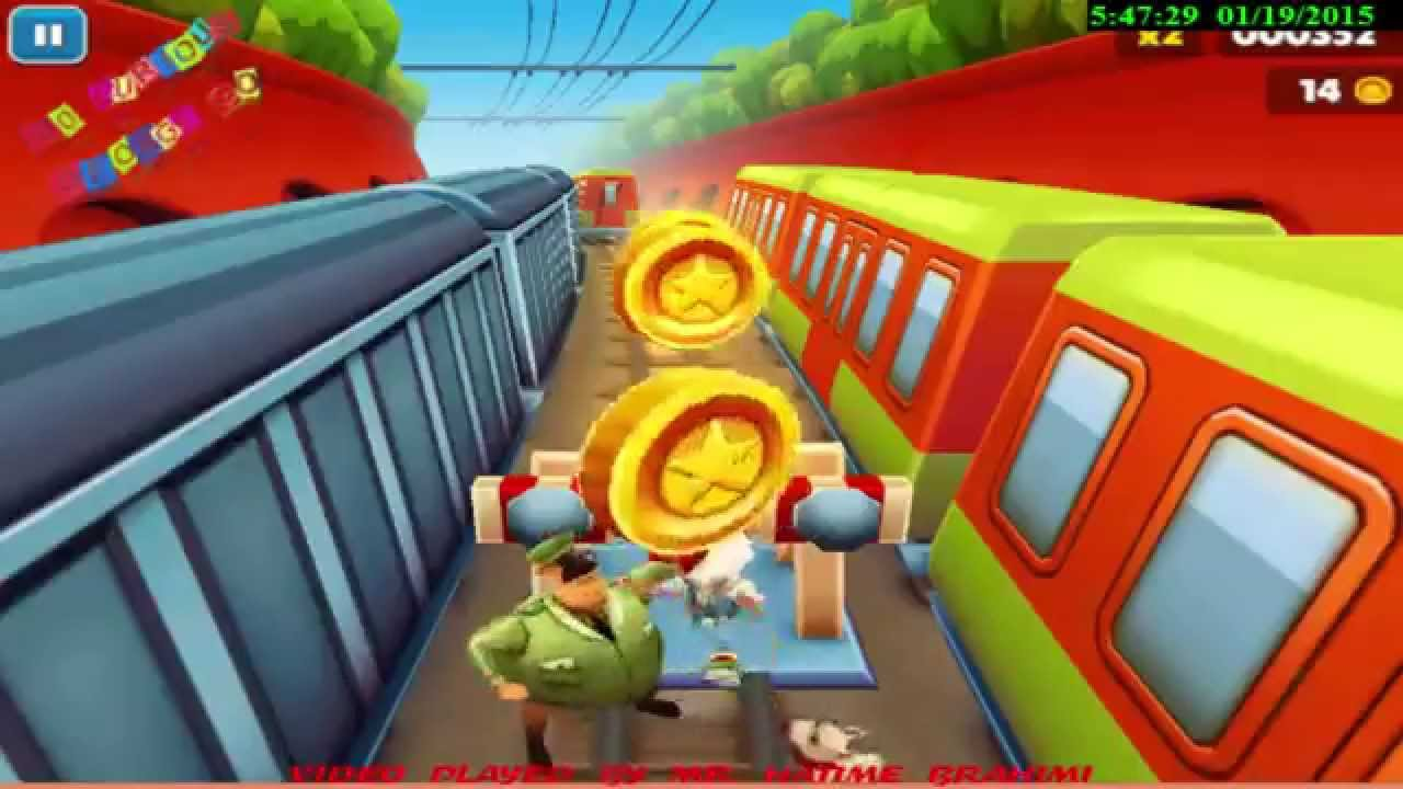 Play For Free The Subway Surfers Game For Kids On Pc Over