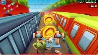 Play for free the Subway Surfers Game for Kids On Pc Over 15 Minutes of Fun gameplay on youtube