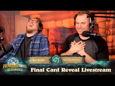 The Witchwood Final Card Reveal & Gameplay Livestream