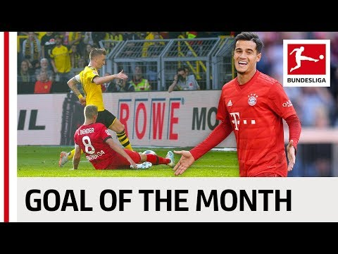 Top 10 Goals September – Vote For The Goal Of The Month