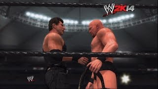 """WWE 2K14"" How-To: ""Stone Cold"" Steve Austin vs. The Rock at WrestleMania 17"
