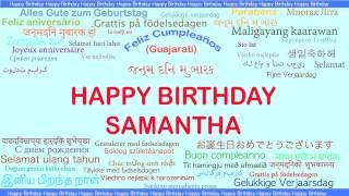 Samantha   Languages Idiomas - Happy Birthday