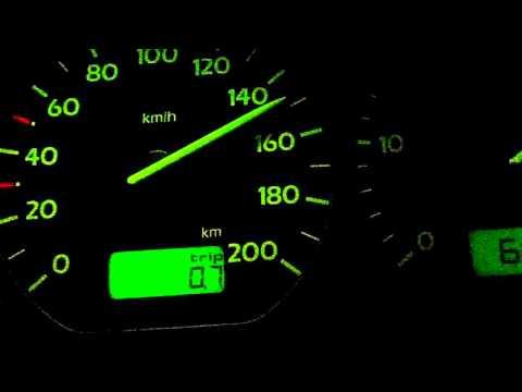 Acceleration  Golf 3 1.9 TDI 90 Hp Stock