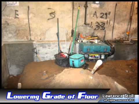 Basement Dig Out, Lowering Your Basement