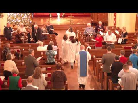 Worship Service 12-13-15, St. John's Lutheran Church, San Antonio, TX