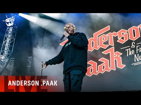Anderson .Paak & The Free Nationals - 'Am I Wrong' (live at Laneway Festival)