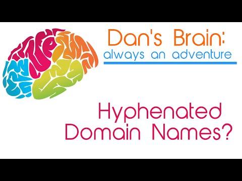 Does A Hyphenated Domain Name Make Sense?